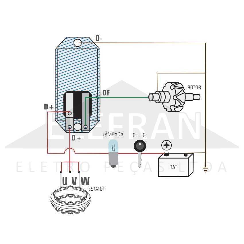 Gauss Ga014 Regulador De Voltagem Do Alternador 14v Wapsa